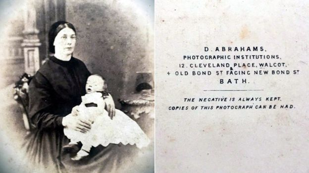 Victorian woman and baby