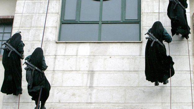 Graduation Iranian police academy