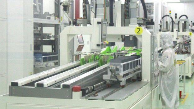 Nhà máy Trina Solar, đầu tư của Trung Quốc tại Bắc Giang