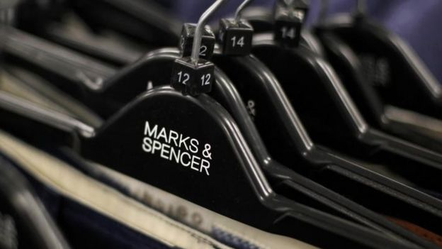 M&S clothes hangers