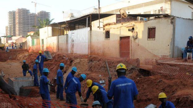 Construcción de Odebrecht