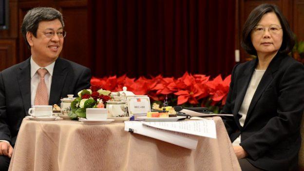 台灣總統蔡英文、副總統陳建仁