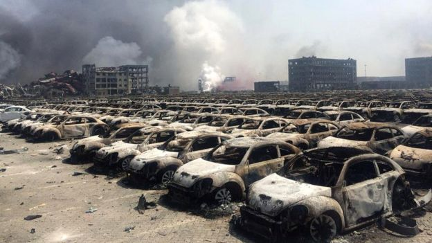 china explosion 2015 , tianjin explosion