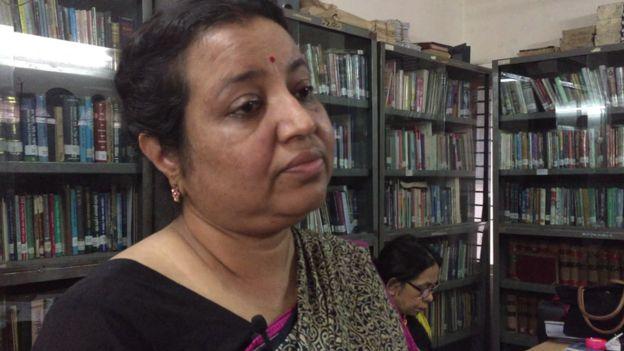 আইন ও সালিশ কেন্দ্র সংস্থাটির কর্মকর্তা নীনা গোস্বামী