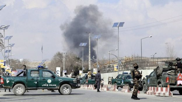 Kabul hospital attacked