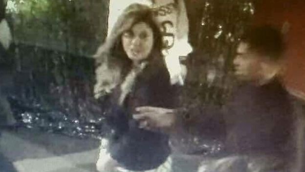 CCTV shows Ms Naegle leaving a bar with the suspect, say her family