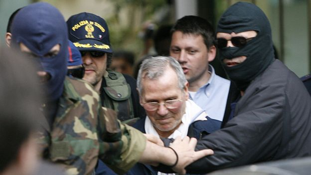 Arrest of Bernardo Provenzano in 2006
