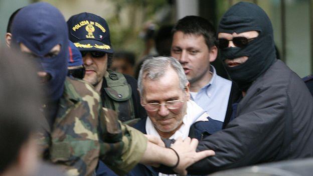 Arrest of Bernardo Provenzano in 2006