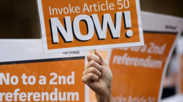 Article 50 banner