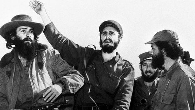 Кастро среди повстанцев