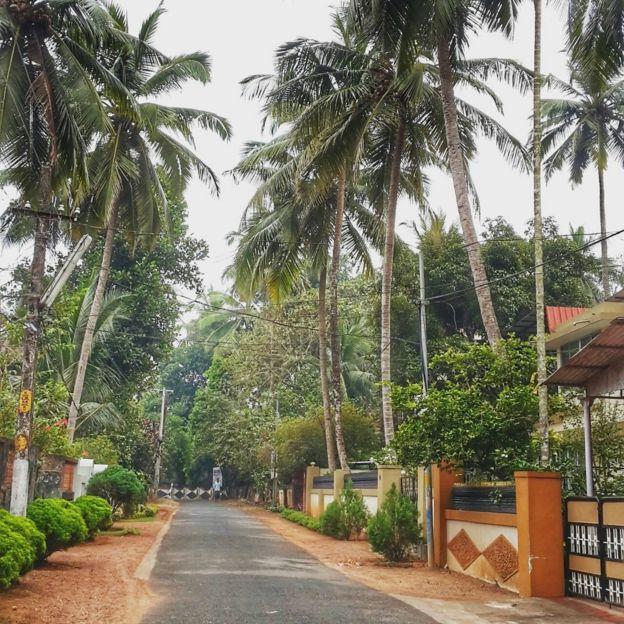 Street in Kerala