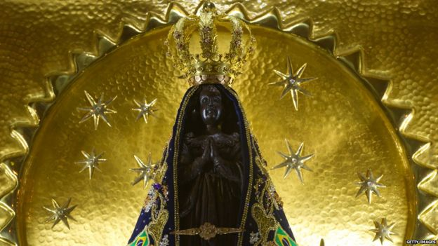 The shrine of Our Lady of Aparecida