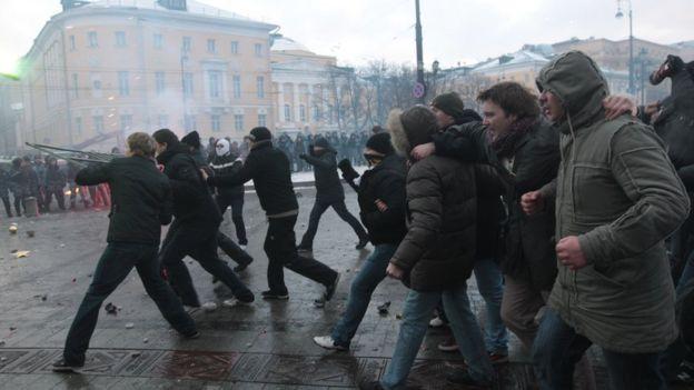 Беспорядки на Манежной площади, 11 декабря 2010 года
