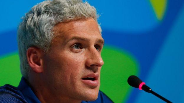 Em entrevista a NBC na quinta, o nadador Ryan Lochte mudou detalhes da história