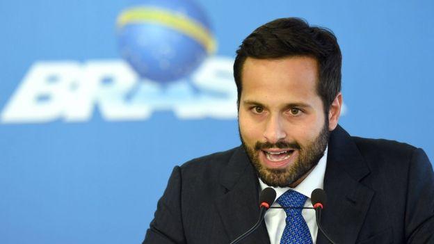 Ex-ministo da Cultura Marcelo Calero, pivô de nova crise no governo Temer