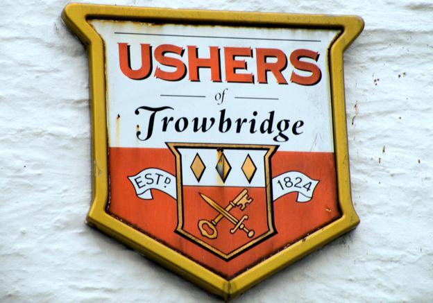 An Ushers of Trowbridge coat of arms