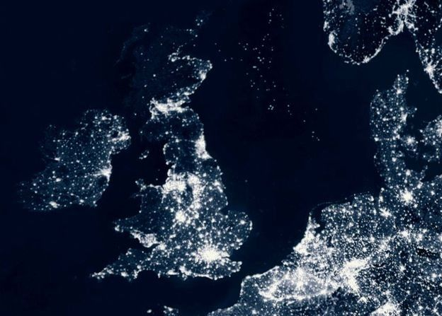 ส่วนที่สว่างที่สุดของสหราชอาณาจักร กำลังสว่างมากขึ้น