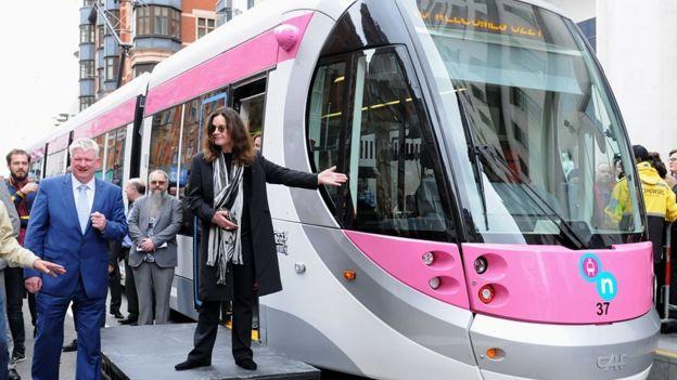 Ozzy Osborne y su tranvía