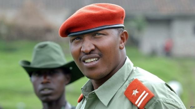 File photo of Bosco Ntaganda in eastern DR Congo, 11 January 2009