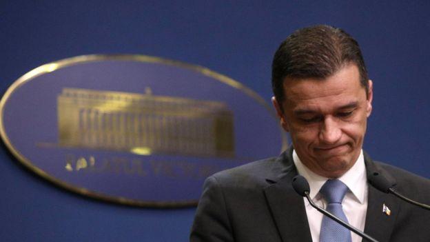 Sorin Grindeanu, primer ministro de Rumania.
