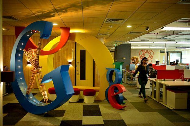 Una oficina de Google por dentro.