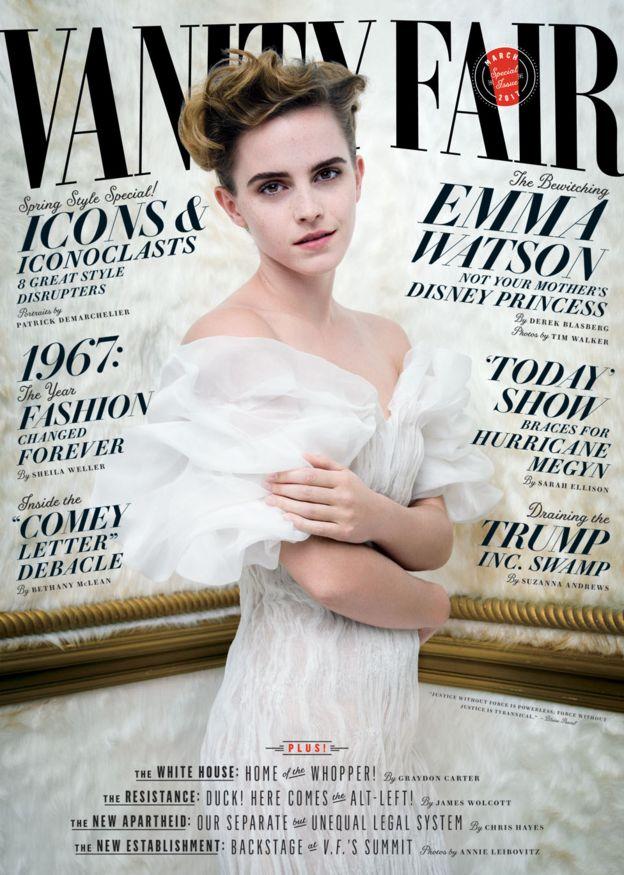 Portada de Vanity Fair con Emma Watson