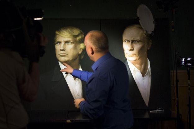 Pelo que foi visto na campanha, espera-se que Putin e Trump tenham bom relacionamento.