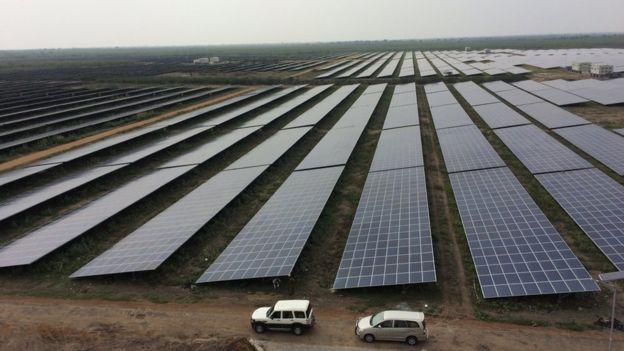 The world's largest solar farm