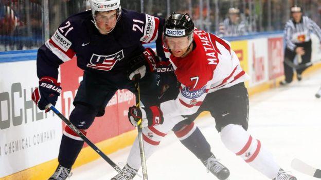 USA v Canada semi final