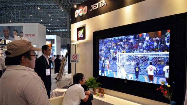 NHK 8K demo