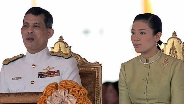 Vajiralongkorn ana mtoto mmoja wa kiume aliyempata na mke wake wa zamani Srirasmi