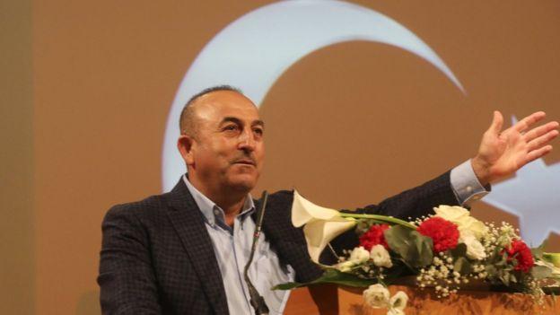 مولود كافوسوغلو وزير الخارجية التركي