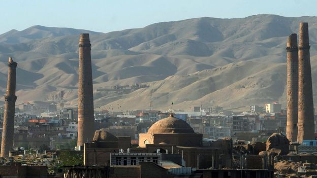 Image of mosque in Herat