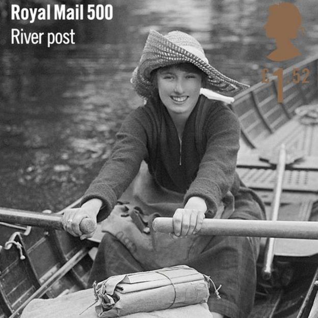 A river postwoman