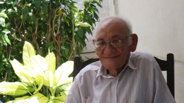 Martin Castro'nun Biran'da çekilmiş fotoğrafı