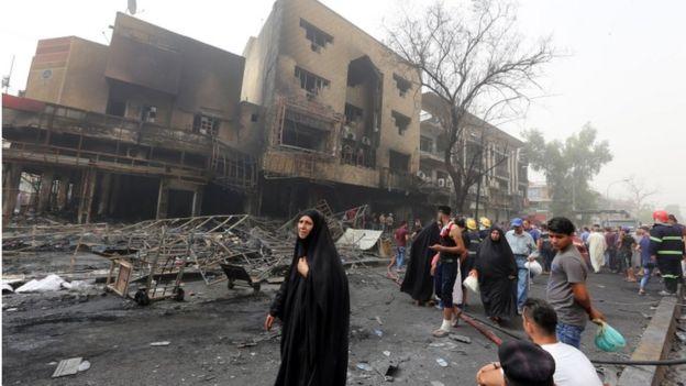 Ataque en Karrada