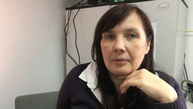 Alyona Sadikova igazgatója, női menhely