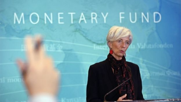 IMF chief, Christine Lagarde