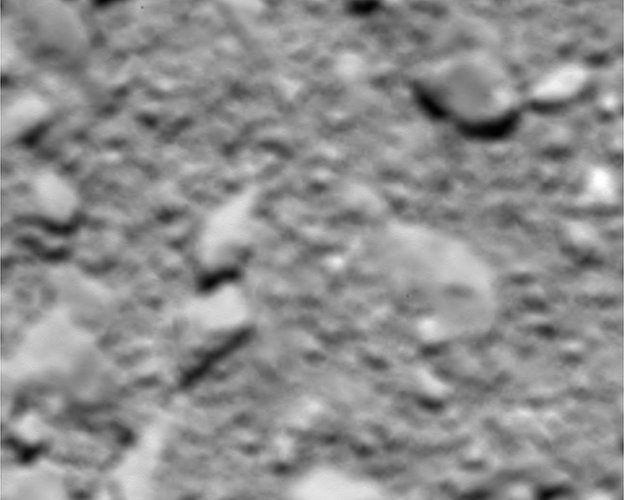Imagem do cometa 67P
