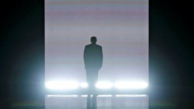 Donald Trump at Republican convention