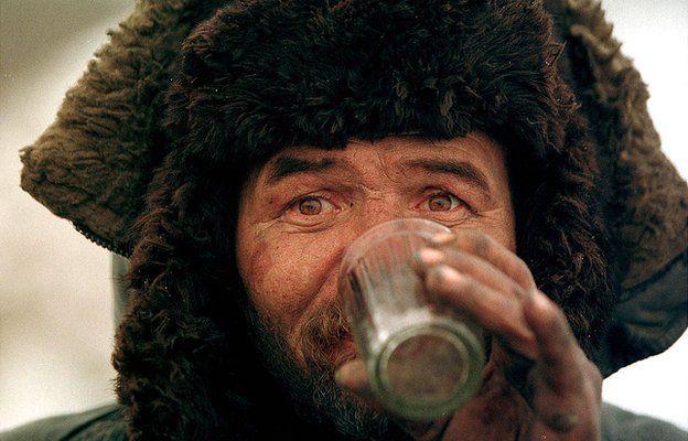 Пьющий в Москве
