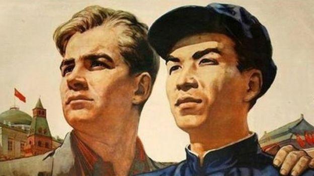 China, Soviet Union