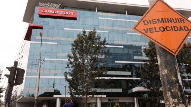 Sede de Odebrecht en Lima
