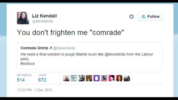 Kendall tweet