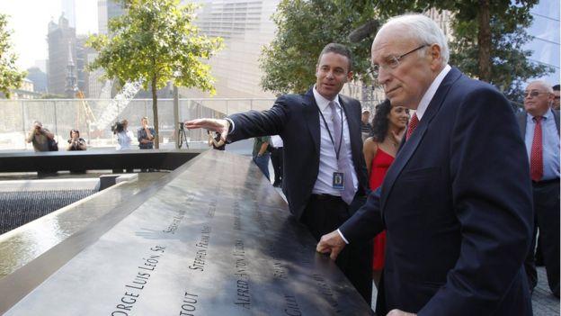 Dick Cheney at 9/11 memorial