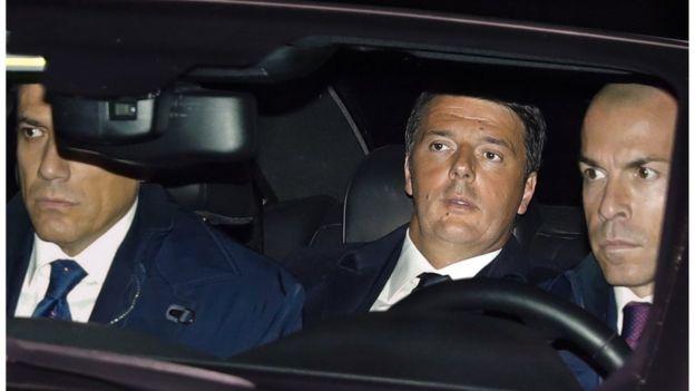 意大利总理伦齐在政坛乱局中递交辞呈