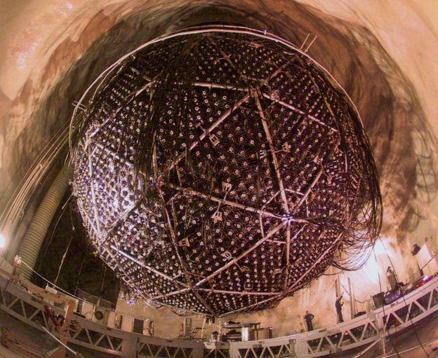 Outer shell of the Sudbury neutrino detector