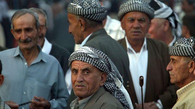 Pobladores de Mosul