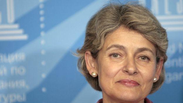 Irina Bokova.