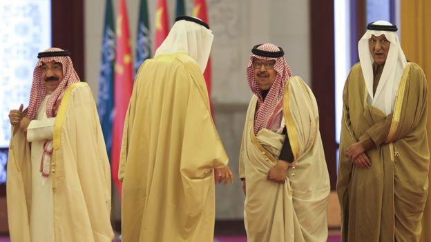 Saudi, China
